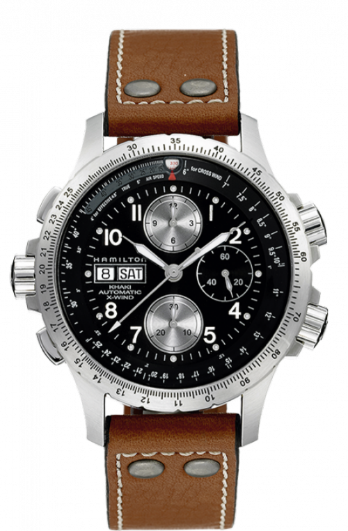 HAMILTON AVIATION KHAKI X-WIND AUTOMÀTIC  H7761633