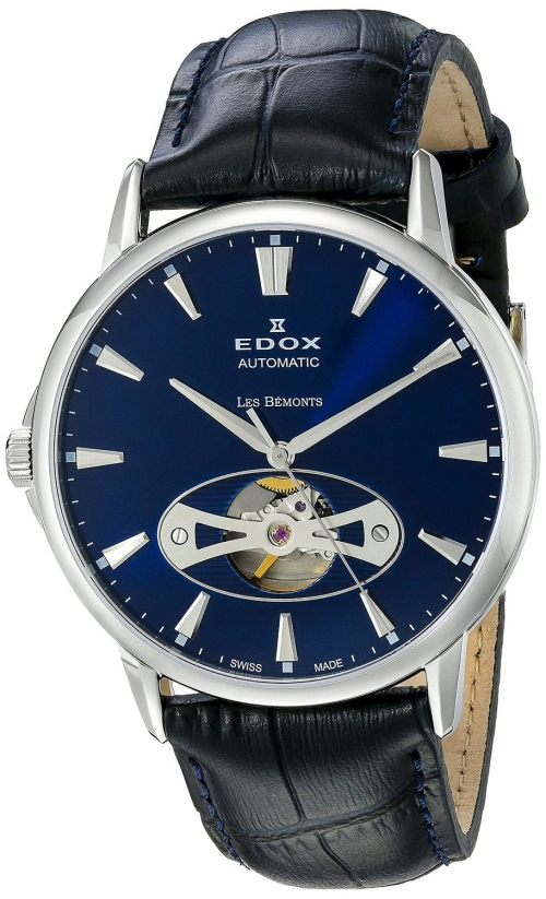 Edox Les Bémonts Automatic Open Heart 85021-3B-UIN